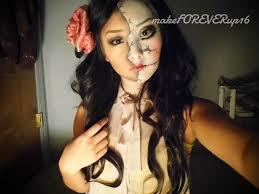 half face makeup tutorial youtube