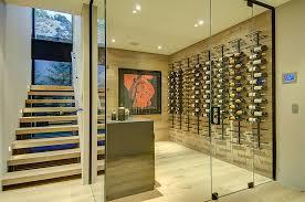 glass basement doors 20 eye catching under stairs wine storage ideas