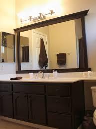 Framing Bathroom Mirror by Best 25 How To Fix A Mirror Ideas On Pinterest Mirror Border