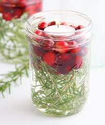 jar table decorations christmas jar crafts real simple