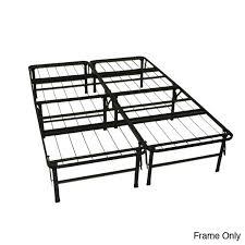King Size Folding Bed Metal Platform Bed Frame Full Easy Queen Size Bed Frame For King