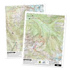 Green Circle Trail Map Maps Of The Pacific Northwest National Scenic Trail