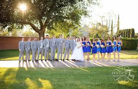 silver and royal blue wedding blue u0026 sliver wedding recap matt u0026 amanda austin wedding