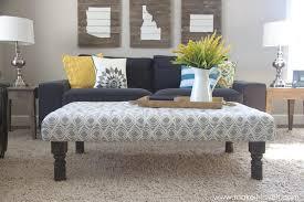 Cushioned Ottoman Large Cushioned Ottoman Best Interior Ideas