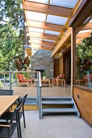 Covered Patio Decorating Ideas kalwall trend seattle contemporary patio decorating ideas with