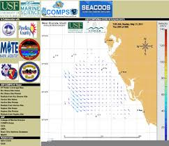 Map Of The Gulf Of Mexico Public Health And Safety Gulf Of Mexico Coastal Ocean Observing