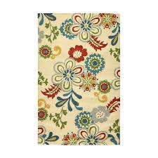 area rugs home decorators home decorators collection tilly ivory 5 ft x 8 ft area rug