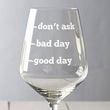 personalised wine glass by becky broome notonthehighstreet com