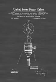 Kitchen Light Bulb by Edison Electric Lamp And Holder Patent 1882 Light Bulb Edison
