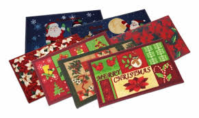 christmas hearth rugs collection on ebay