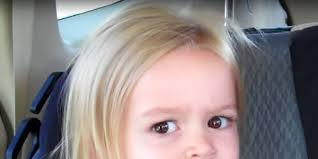 Chloe Little Girl Meme - unimpressed chloe is all grown up 4 years after her surprise