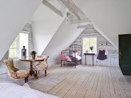 attic bedroom oh this is more like an attic apartment so