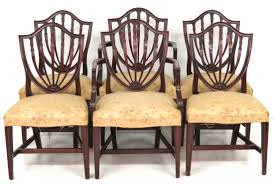 potthast brothers baltimore shieldback dining chairs 6 potthast brothers baltimore shieldback dining chairs