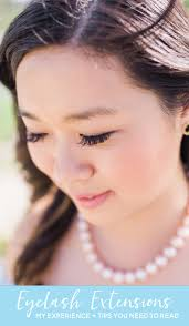 eyelash extensions my experience tips you need to read