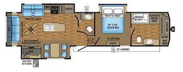 5th Wheel Camper Floor Plans 2017 Eagle Fifth Wheel Floorplans U0026 Prices Jayco Inc
