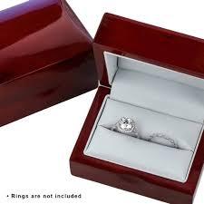 diamond rings box images Jewelry box storage box double wood ring box velvet box for etsy jpg