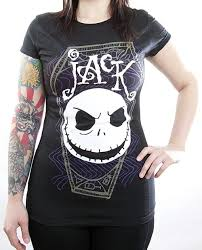 nightmare before t shirt coffin