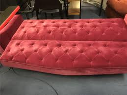 Tufted Sofa Sleeper by 9 Novogratz Vintage Tufted Sofa Sleeper Ii Burgundy 2020957n