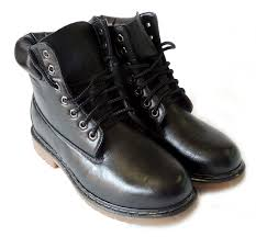 amazon com new polar fox mens leather ankle boots military