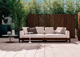 contemporary sofa garden wood by rodolfo dordoni alison