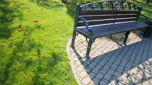 Old Park Benches Old Style Metal Bench At The Park Stock Footage Video 5452049