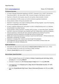 Sample Resume For C Net Developer by Asp Net Sample Resume India Vosvete Modern Resume Template 8412