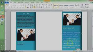 tutorial youtube word latest template to make a brochure how in microsoft word youtube