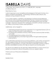 Cover Letter For Government Job Application by Leading Professional Bookkeeper Cover Letter Examples U0026 Resources