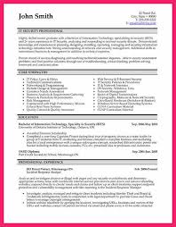 It Knowledge Resume Software Security Specialist Resume Creative Student Resume