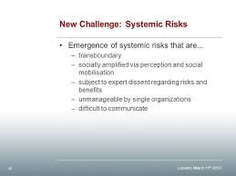 Challenge Risks A Closer Look At Risk Perception And Risk Governance Ppt