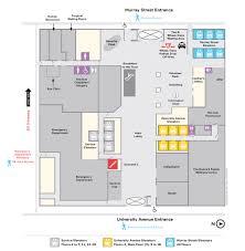 main floor lobby map u2014 mount sinai hospital toronto