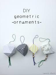 diy geometric ornaments u create