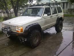 mobil jeep modifikasi fs jeep cherokee 1997 white