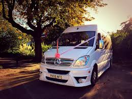 luxury mercedes sprinter wedding minibus hire minibus travel for your wedding advanced