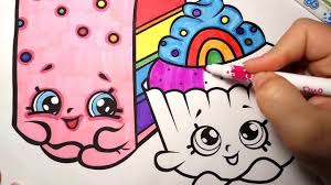 shopkins coloring pages videos shopkins coloring page video for kids learn rainbow colors with