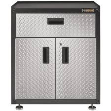 Storage Cabinets Metal Furniture Provides A Great Base Of Storage For Your Garage With