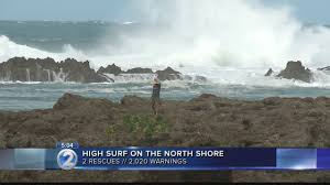 thanksgiving brings large surf dangerous conditions to island