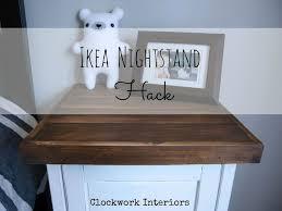 ikea hack hemnes ikea hack customize a hemnes nightstand with reclaimed wood