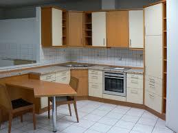 buche küche l küche viele auszüge eckschrank buche musterküche einbauküche