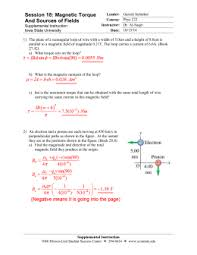physics 6b ch 20 worksheet electron traveling at a velocity of 3 58x10