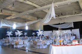 quince decorations party event decorating company white feather quinceanera