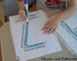 Preschool Writing Paper Template 41 Best Teaching Number Writing Images On Pinterest Preschool