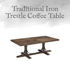 Trestle Coffee Table Magnolia Home Preview Traditional Collection Design By Gahs