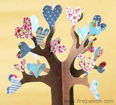 3d paper tree craft kids u0027 crafts firstpalette com