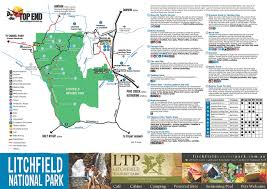 Nd Road Map Tourism Top End Top End Maps Australia U0027s Northern Territory