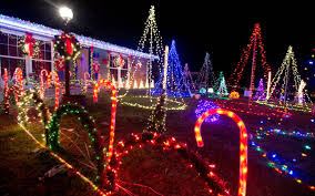 interactive map houston county u0027s best christmas lights the