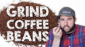How To Grind Coffee Without A Coffee Grinder How To Grind Coffee Beans Youtube