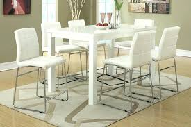 glass counter height table sets glass top counter height dining table furniture of contemporary