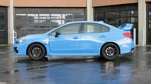 subaru blue 2017 2016 subaru wrx sti review and test drive with price horsepower