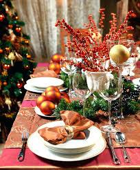 christmas dinner table setting christmas dining table decorations dining table decorations table